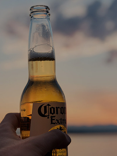 How the Coronavirus has affected the Corona Brand and beer sales background